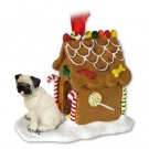 GBHD18A Pug, Fawn Ginger Bread House