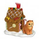 GBHD21B Chow, Red Ginger Bread House
