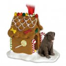 GBHD24C Labrador Retriever, Chocolate Ginger Bread House