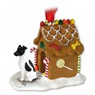 GBHD50B Fox Terrier, Black & White Ginger Bread House
