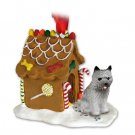 GBHD53A Cairn Terrier, Gray Ginger Bread House
