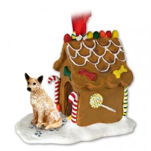 GBHD87A Australian Cattle Dog Red Ginger Bread House