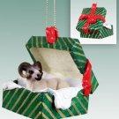 GGBA25 Sheep, Dall Green Gift Box Ornament