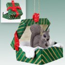 GGBA30B Squirrel, Gray Green Gift Box Ornament