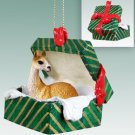 GGBA54 Llama Green Gift Box Ornament
