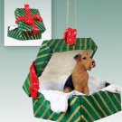GGBD38 Airedale Green Gift Box Ornament