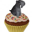 PC114 Kerry Blue Terrier Pupcake Trinket Box