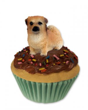 PC122 Tibetan Spaniel  Pupcake Trinket Box