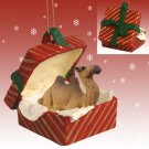 RGBA18 Camel, Bactrian Red Gift Box Ornament