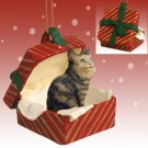RGBC17 Maine Coon Brown Red Gift Box Ornament