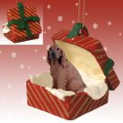 RGBD41 Irish Setter Red Gift Box Ornament