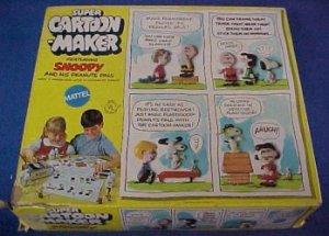 1969 Super Cartoon Maker Peanuts Thingmaker