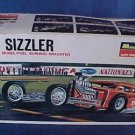 1967 Monogram The Sizzler Slingshot Dragster Model Box