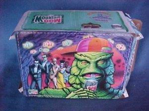 Vintage Mountain Dew Universal Monsters Halloween Creature Black Lagoon