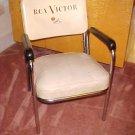 1952 RCA Victor Studios Chrome Eames Era Mid Century Elvis Chair