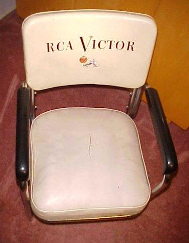 & 1952 RCA Victor Studios Chrome Eames Era Mid Century Elvis Chair