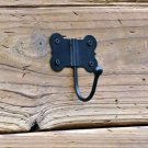 Black Wall Hooks - Black Iron Wall Hooks - On SALE