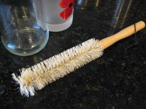 Wooden Handle Bottle Brush