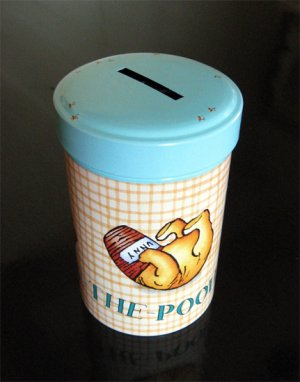 Winnie the Pooh Money Bank