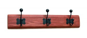 Butterfly Hat and Coat Rack in Red