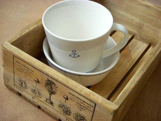 Antique Wood Box (Navigation)