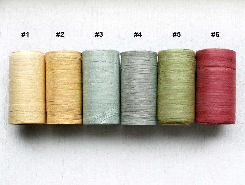 "Paper Raffia Ribbon 1/4"" (32 yds)"