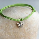 Butterfly Bracelet / Butterfly Anklet (many color to choose)