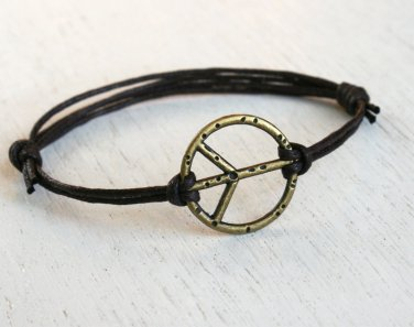 Peace Bracelet - good for man (many colors to choose)