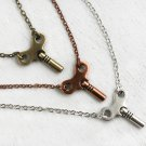Winding Key Necklace (3 colors to choose)