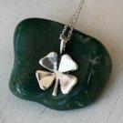 Sterling Silver 4 Leaf Clover Necklace