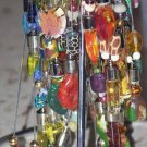 12  hand-painted glass essential oil vials assortment