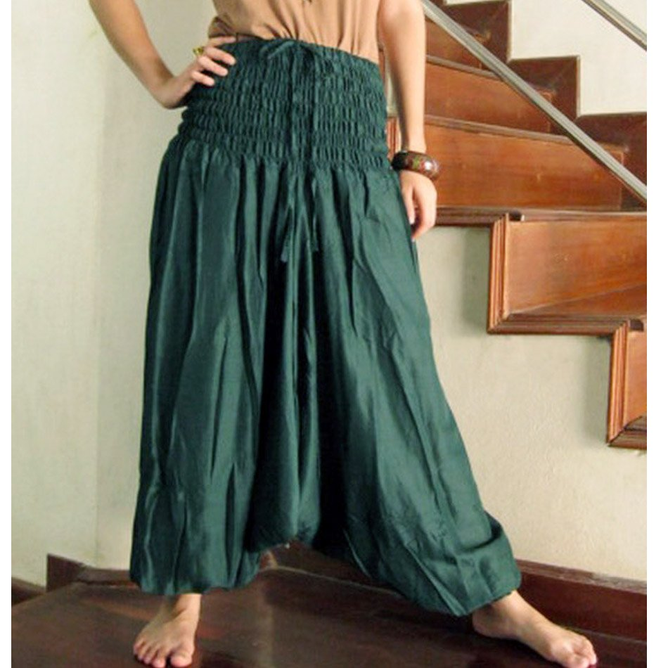 Boho Hippie Gypsy harem pants S M L XL 04