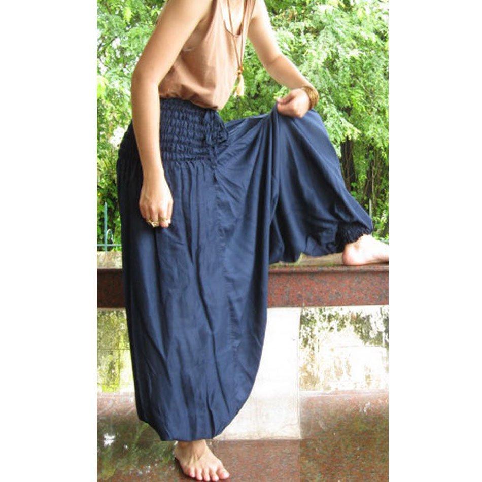 Boho Hippie Gypsy harem pants S M L XL 07