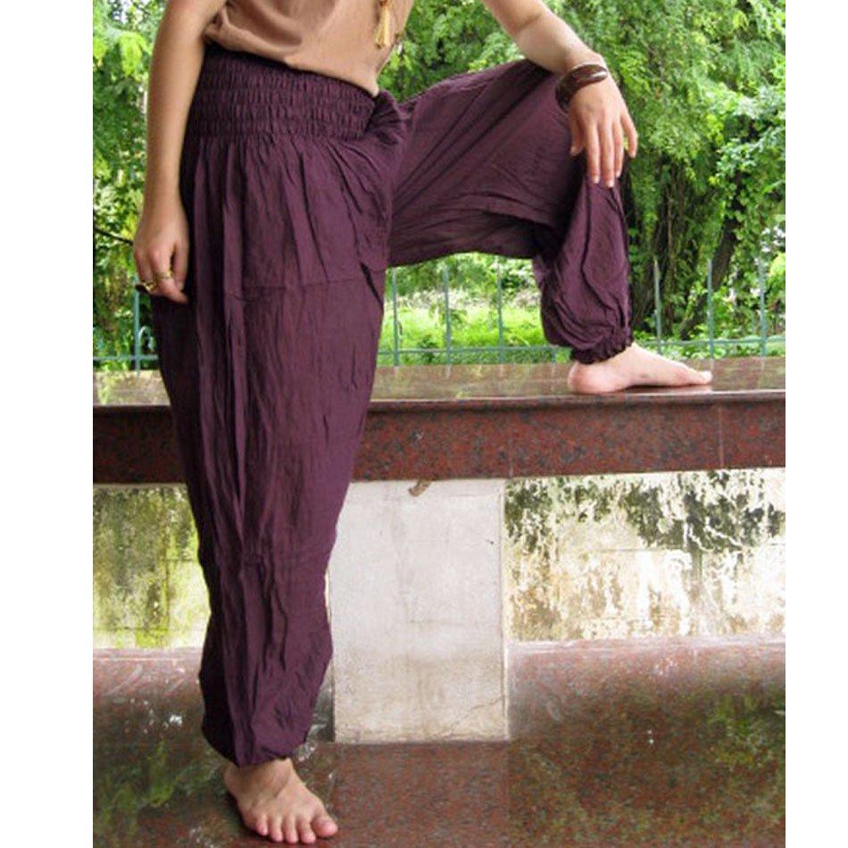 Boho Hippie Long Aladin Soft Cotton Pants S M L XL