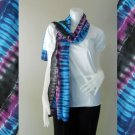 Free Shipping  New Womens Tie Dye Cotton Fashion Scarf Lightweight (06)