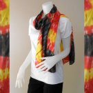 Free Shipping Colorful Tie Dye Cotton Boho Hippie Fashion Scarf Wrap Shawl (08)