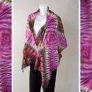 Free Shipping Thai tie dye pure cotton handmade 100 % Scarf,Shawl (11)