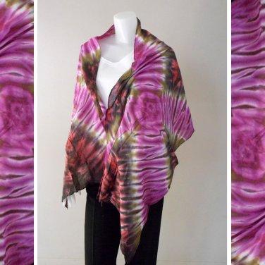 Free Shipping Thai tie dye pure cotton handmade 100 % Scarf,Shawl (11)