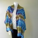 Ladies 100% Tie Dye Cotton Scarf Multi-Color Shawl (22)