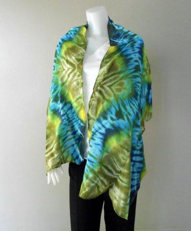 Free Shipping New-Womens-Tie-Dye Cotton Shawl-Fashion-Scarf (26)