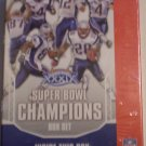 2005 Upper Deck Patriots Super Bowl 51 Card Boxed Team Set