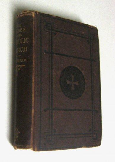 Rare 1889 Catholic History Old Antique Religious Rites Church Book Ceremonies
