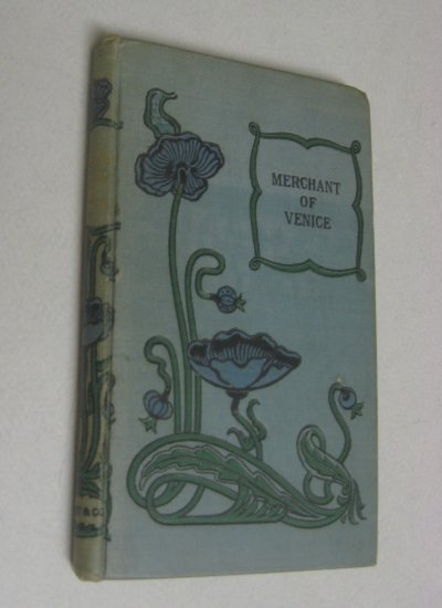 RARE c 1860 Antique Shakespeare Merchant of Venice Old Vintage Classic Poetry Book