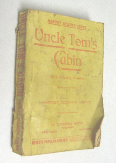 Rare 1894 Uncle Tom's Cabin 1st Antique Slavery Paperback Book Edition Harriet Beecher Stowe Classic
