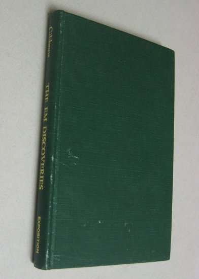RARE Stated 1st First Edition EM Discoveries 1974 Vintage Electromagnetics Book Robert Gibbons