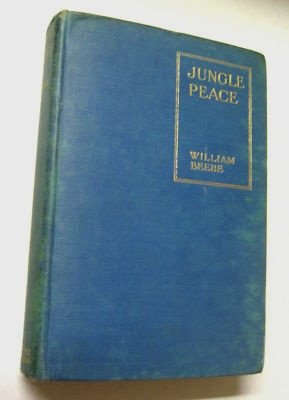 RARE Antique 1st Nature Travel History Photos 1918 Jungle Peace Old Book