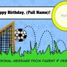 It's A Soccer Birthday
