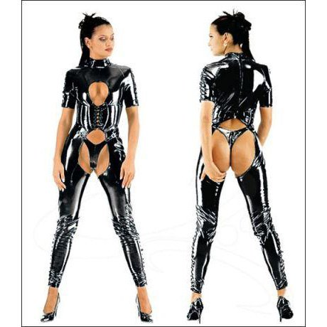 Black Leather with G-string