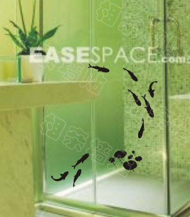 Chinese Paint Decal Sticker