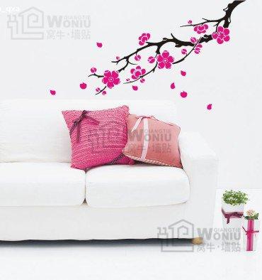 """plum blossom Decal Sticker 36 1/2""""*22"""""""